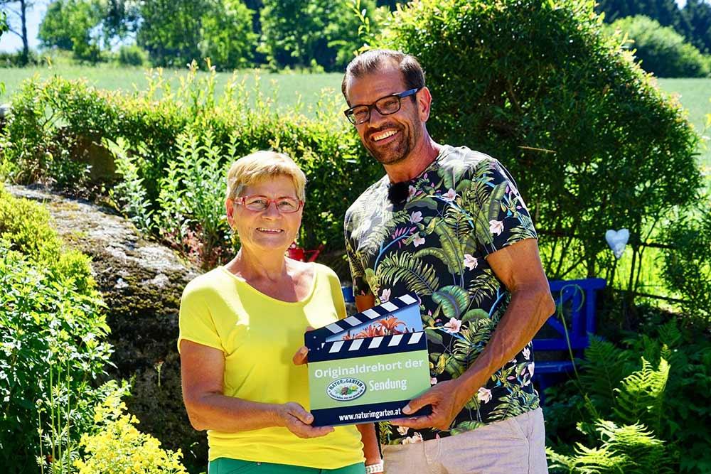 ORF Sendung Natur im Garten mit Karl Ploberger und Maria Huber