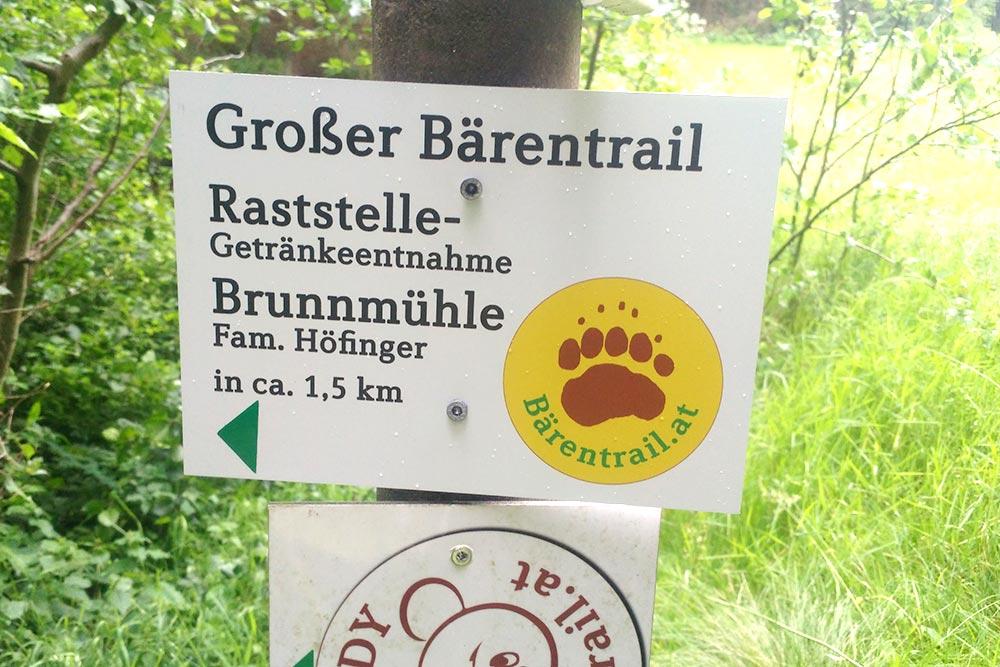 Raststation_Brunnmuehle_Schild_beim_ZellerstegTeddyLohnbachfall