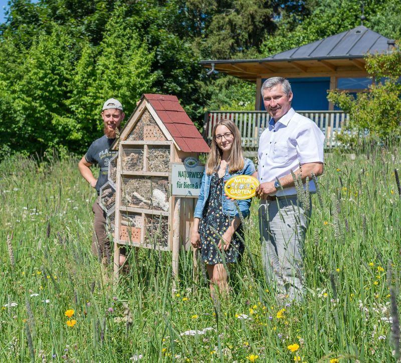Tips Zwettl: Goldener Igel für Gemeinde Arbesbach