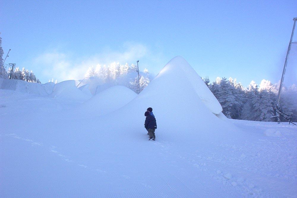Schidorf Kirchbach im Winter
