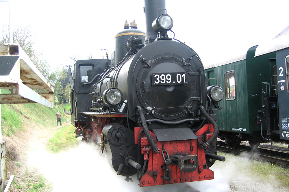 Waldviertelbahn Dampflok 39901_Bahnhof Groß Gerungs6533_(c)waldsoft_cw