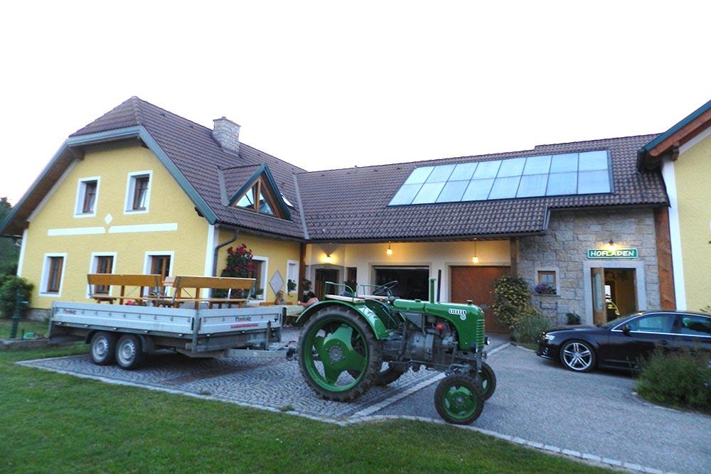 HirschKoglHof Familie Einfalt in Antenfeinhöfen Hofladen